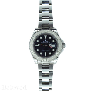 Rolex Yacht-Master 116622 Blue Dial Complete with Warranty Card & Rolex Box Image 2