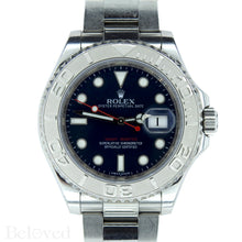 Load image into Gallery viewer, Rolex Yacht-Master 116622 Blue Dial Complete with Warranty Card & Rolex Box Image 1