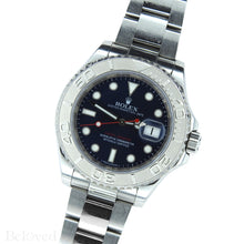 Load image into Gallery viewer, Rolex Yacht-Master 116622 Blue Dial Complete with Warranty Card & Rolex Box Image 3