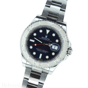 Rolex Yacht-Master 116622 Blue Dial Complete with Warranty Card & Rolex Box Image 3