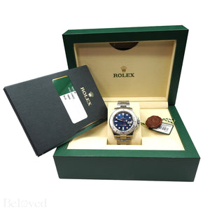 Rolex Yacht-Master 116622 Blue Dial Complete with Warranty Card & Rolex Box Image 8