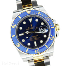 Load image into Gallery viewer, Rolex Submariner 116613 Ceramic Submariner Complete with Rolex Box and Rolex Five Year Warranty Card Image 2