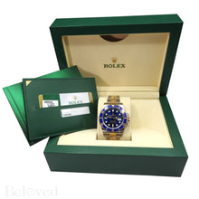 Load image into Gallery viewer, Rolex Submariner 116613 Ceramic Submariner Complete with Rolex Box and Rolex Five Year Warranty Card Image 4