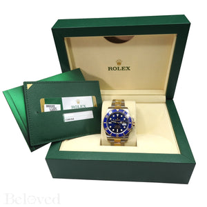 Rolex Submariner 116613 Ceramic Submariner Complete with Rolex Box and Rolex Five Year Warranty Card Image 4