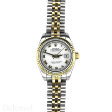 Load image into Gallery viewer, Rolex Datejust 179173 New Model Inner Bezel Engraved Image 2