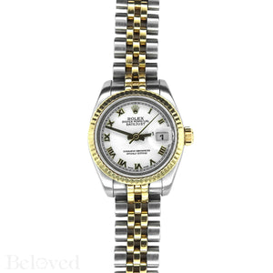 Rolex Datejust 179173 New Model Inner Bezel Engraved Image 2