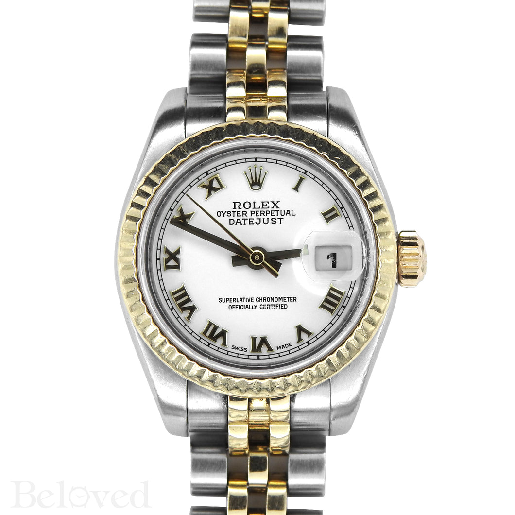 Rolex Datejust 179173 New Model Inner Bezel Engraved Image 1
