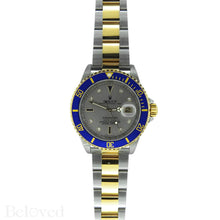 Load image into Gallery viewer, Rolex Submariner 16613 Salte Serti Dial Image 2