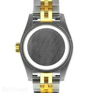 Rolex Datejust 179383 Full Factory Diamond Bezel Factory White Mother of Pearl Diamond Dial Image 5