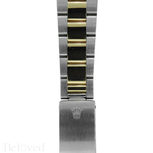Rolex Datejust 16203 Champagne Smooth Bezel Image 7