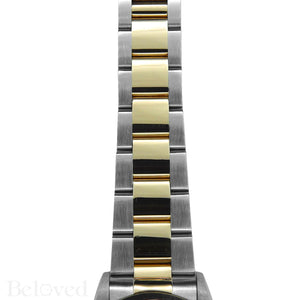 Rolex Datejust 16203 Champagne Smooth Bezel Image 6
