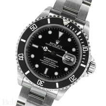 Load image into Gallery viewer, Rolex Submariner 16610 Complete with Rolex One-Year Warranty Paper and Rolex Box Image 3