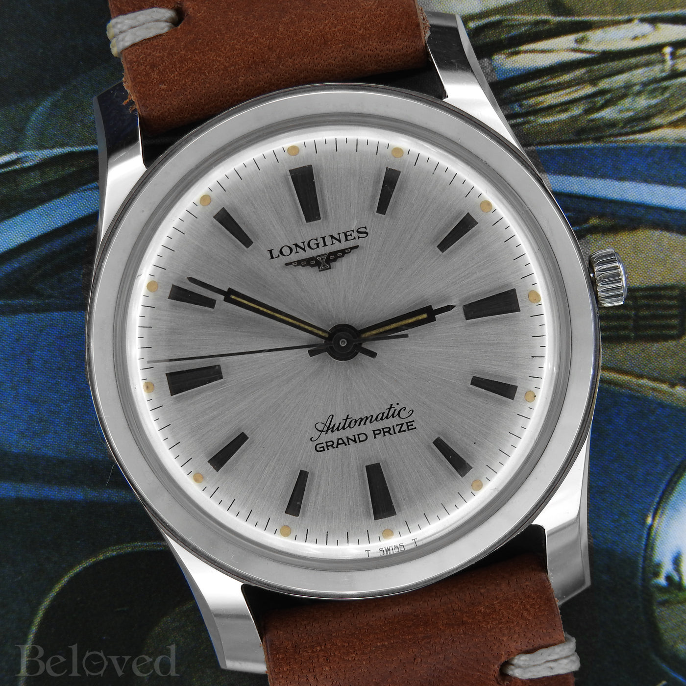 Photographed below Longines Grand Prize 1300