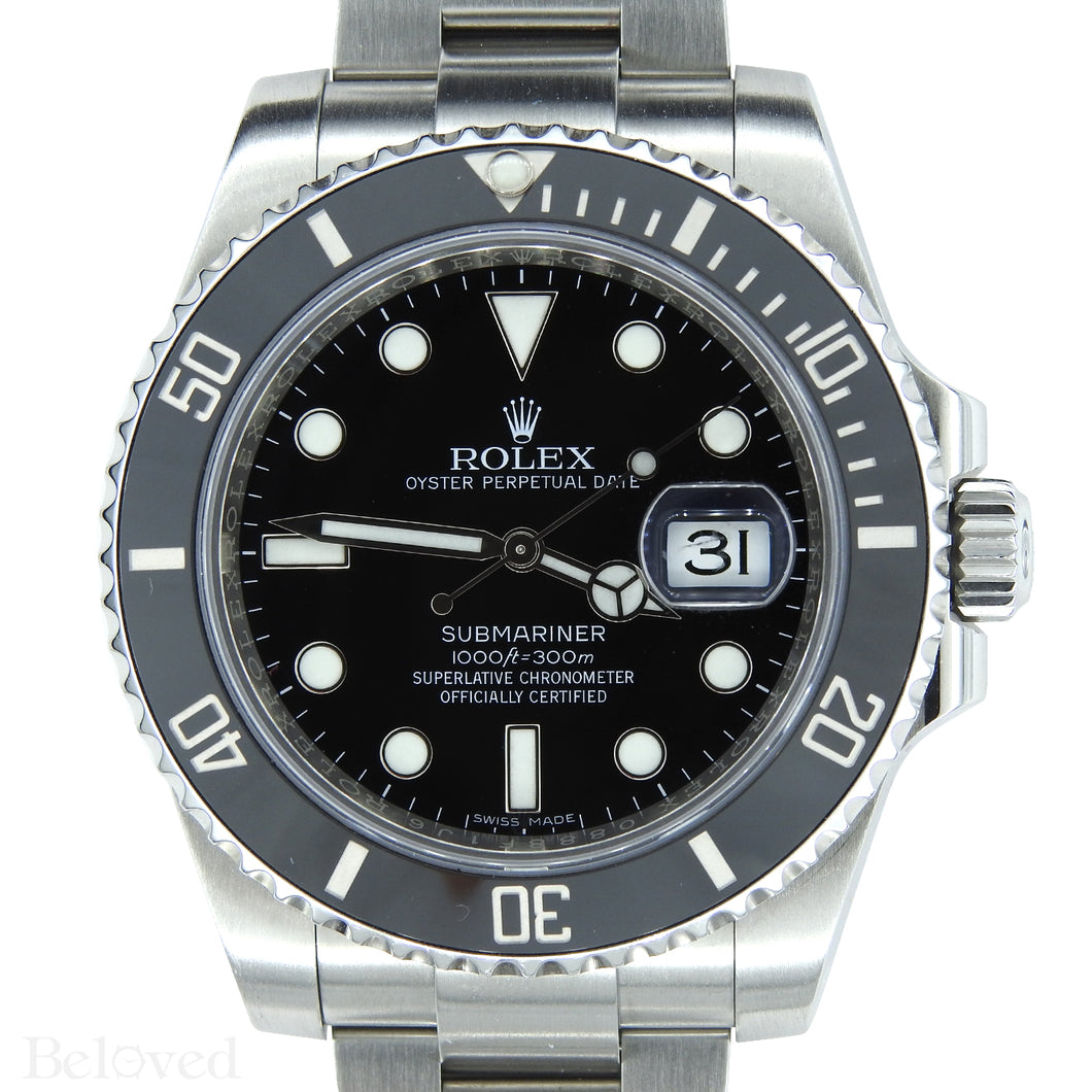 Rolex Ceramic Submariner 116610
