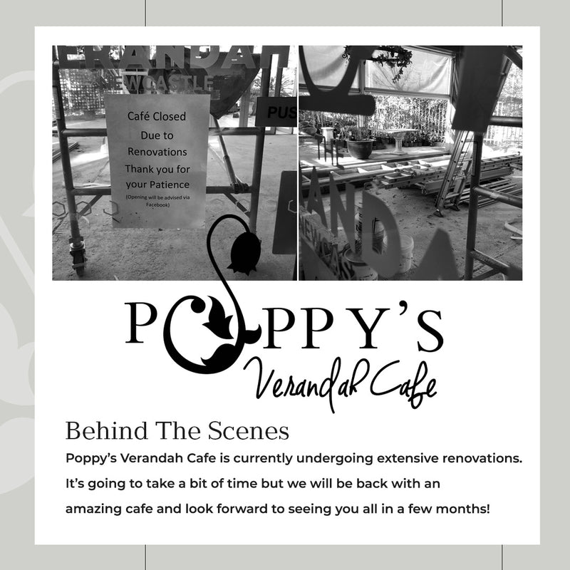 Poppy's Verandah Cafe - undergoing major renovations