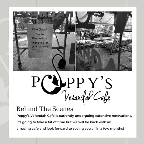 Poppy's Verandah Cafe Renovations