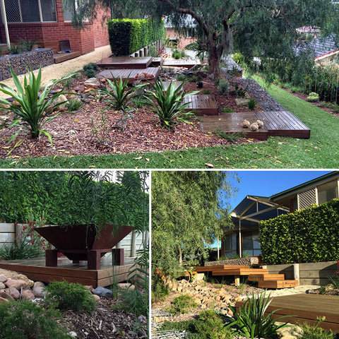 Landscape Construction Services at Poppy's Home and Garden Newcastle