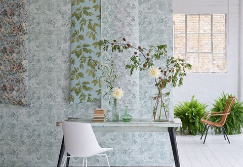 Designers Guild Wallpaper at Poppy's Home and Garden Newcastle