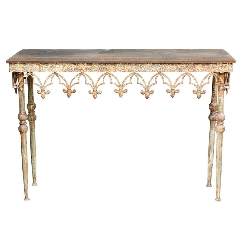 Alsace Conservatory Console Rust