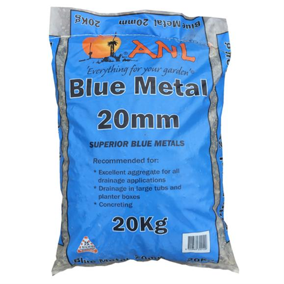 Blue Metal Aggregate 20mm 20kg bag