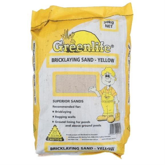 Bricklaying Sand