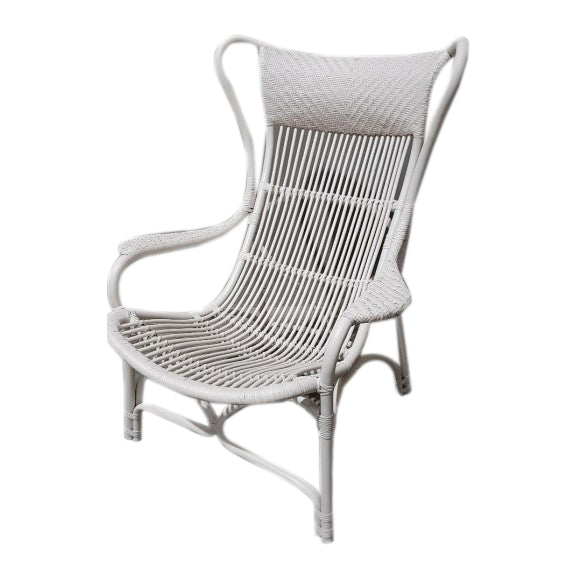 Conner Living Chair White