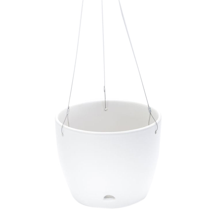 Hanging Pot Matt White