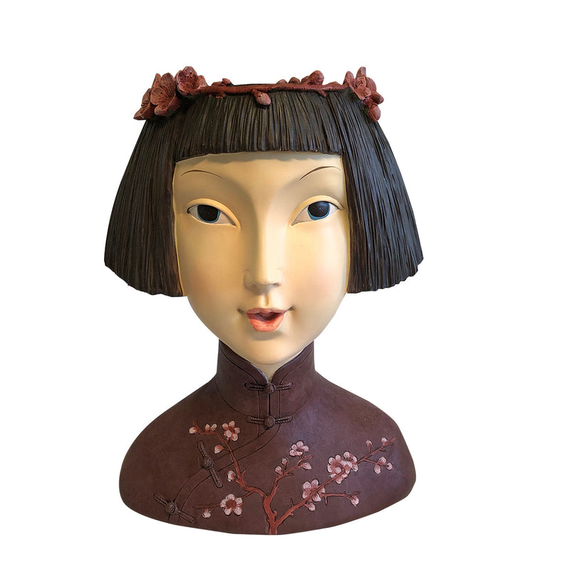 Japanese Lady Head Planter