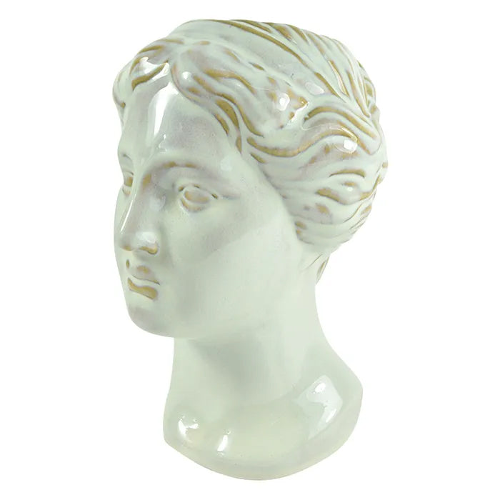 Julia Ceramic Head Vase Planter