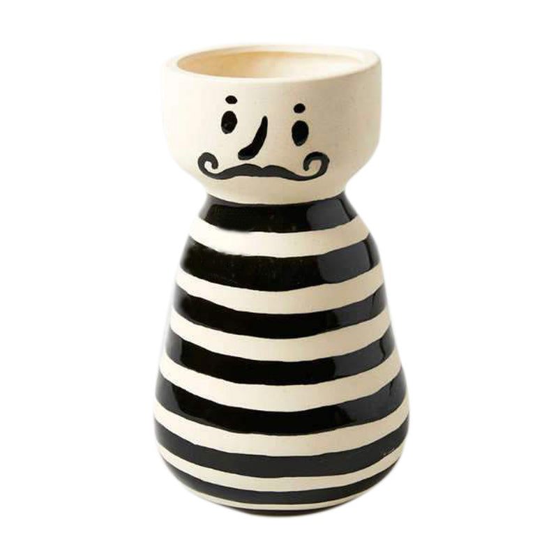 Mr Jacque Ceramic Face Vase Planter
