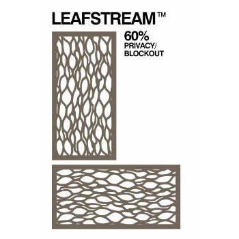 Out Deco Leafstream Screen