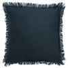 Cushion Porter Fringe Navy