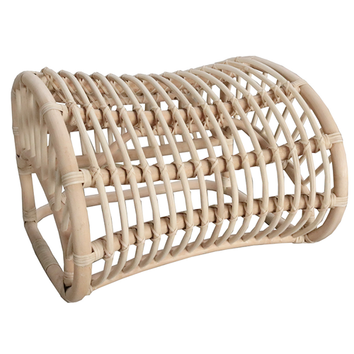 Rattan Lounge Chair Foot Rest Natural