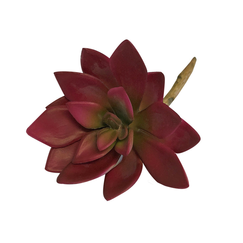 Red Mini Artificial Succulent Flower