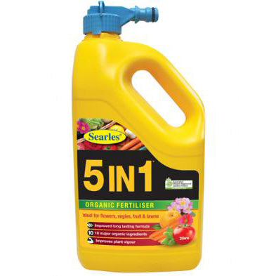 Searles 5 in 1 Liquid Hose Fertiliser 2L