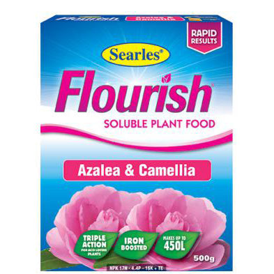 Searles Flourish Azalea and Camellia Soluble Plant Food