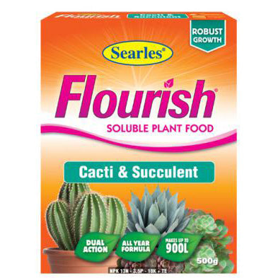 Searles Flourish Cacti and Succulent Plant Food