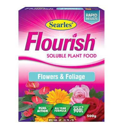 Searles Flourish Flowers and Foliage Soluble Plant Food