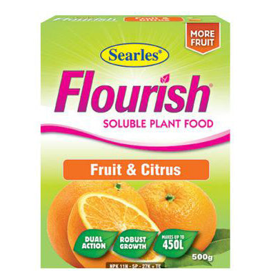 Searles Flourish Fruit and Citrus Soluble Plant Food