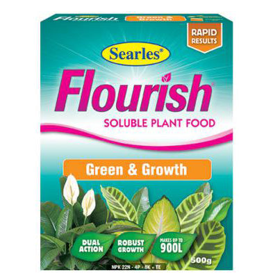 Searles Flourish Green and Growth Soluble Plant Food