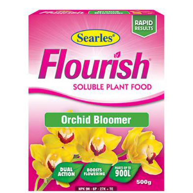 Searles Flourish Orchid Bloomer Soluble Plant Food