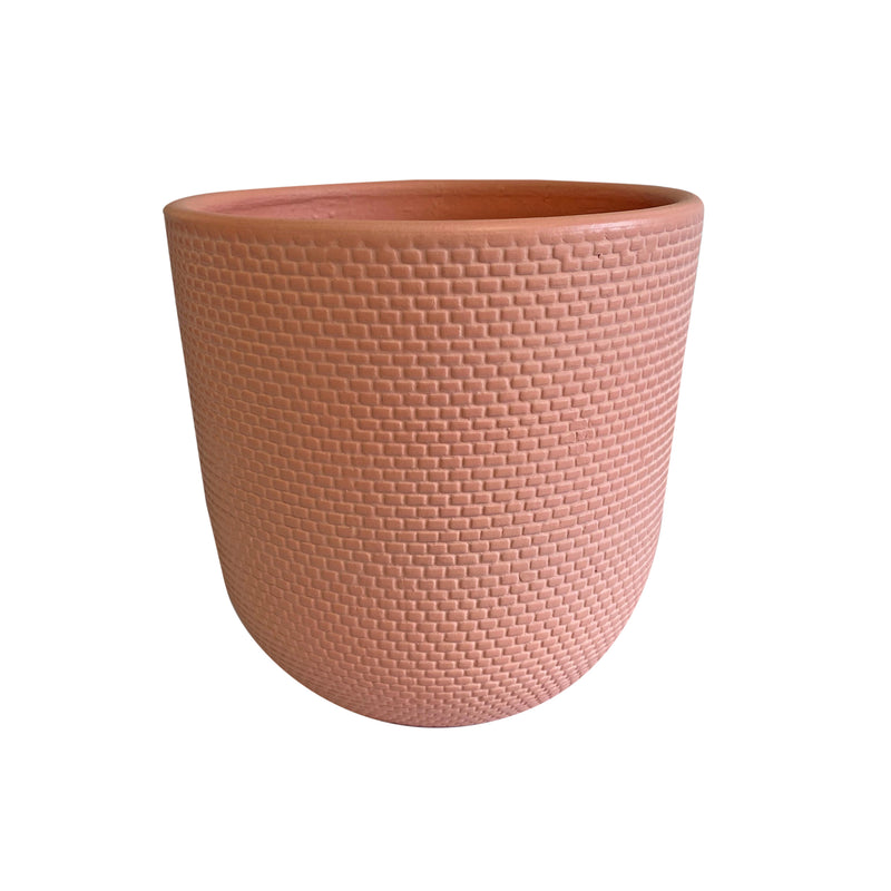 Tweed Nectarine Pot Large