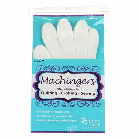 Machingers Quilting Glove Small / Medium - Choose Size