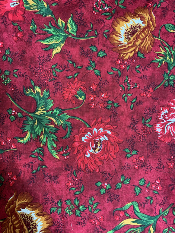 Floral - red 1790-88