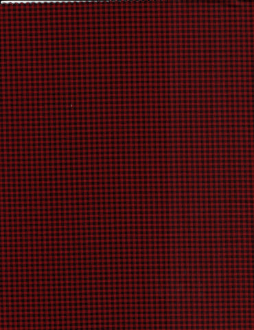 Red & Black Check - 7171-88