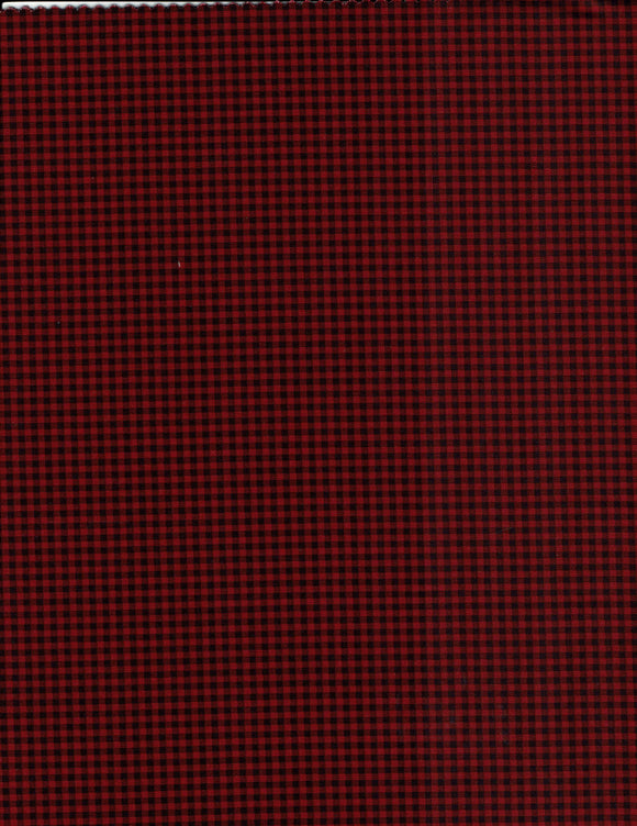 Everyday Checks - Red & Black 7171-88