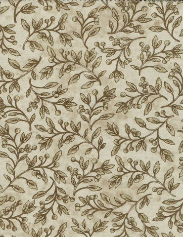 7373-30 - Beige - Vine and berry