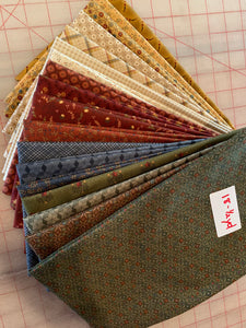 Bundle of 18 fabrics
