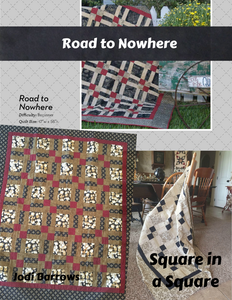 Road to Nowhere fabric kit