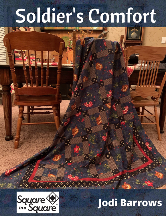 Soldier's Comfort Quilt Kit and/or pattern  (ePattern - immediate download)